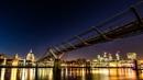 Millennium Bridge Night Shot by Pete2453