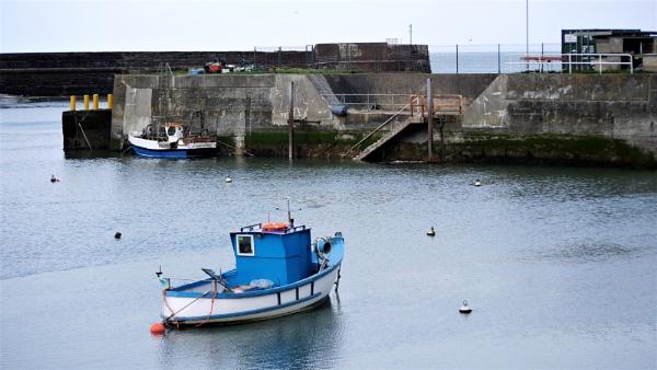 Harrington Harbour by ANNDORASBOX