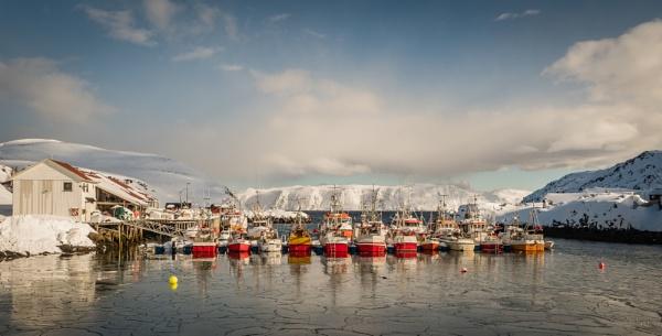 Kamoyvaer Fishing Fleet Northern Norway by Skyerocket