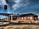 The  hoe and the water tower by waltknox