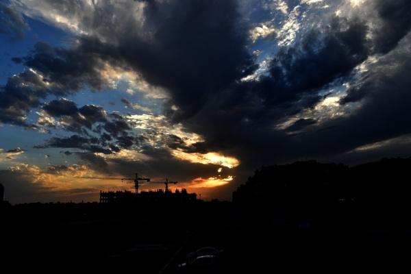 Sunset @ Jeddah by aliathik