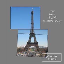 La tour Eiffel 14 mars 2003