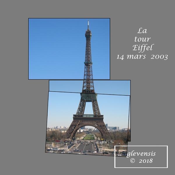 La tour Eiffel 14 mars 2003 by glevensis