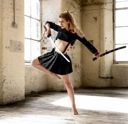 Dancing with swords