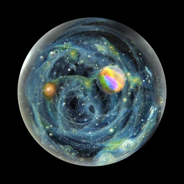 Cosmos Sphere by BarbaraR