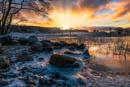 Frozen Sunset by douglasR