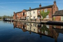 Canal reflections at Fradley by ensign