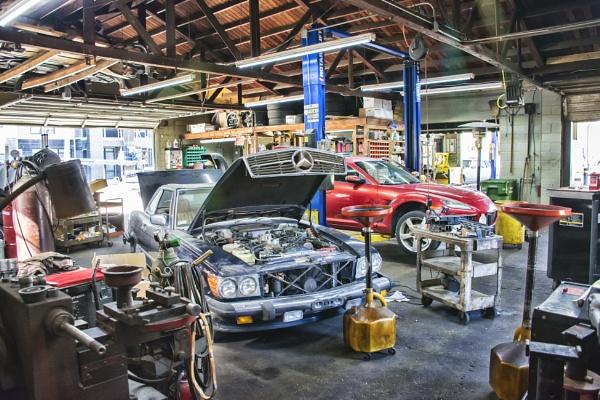 Auto Repair Shop by jbsaladino
