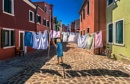 Burano Washday by Tonyd3