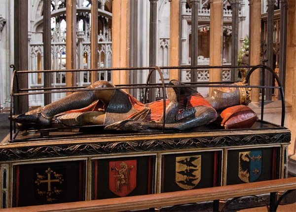 Tomb of Robert, Duke of Normandy, in Gloucester Cathedral by Janetdinah