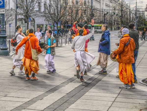 Hare Krishna by Danas