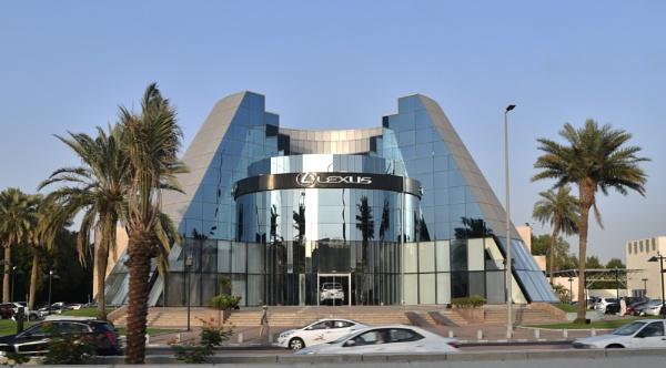 Lexus Showroom Jeddah, Saudi Arabia by aliathik