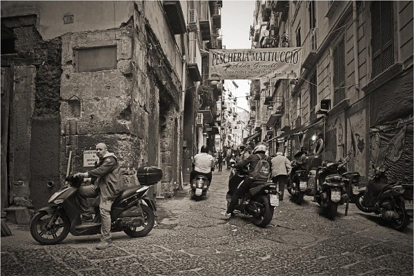 Naples Backstreets by MalcolmM