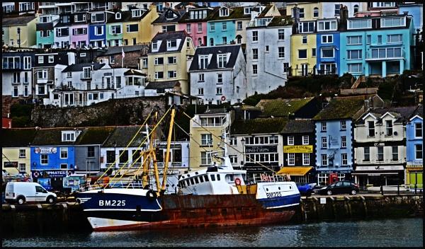 Brixham Trawler by Grumby