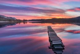 Loch Ard, Sunrise.