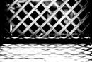 Trellis, trellis shadow and decking. by saltireblue