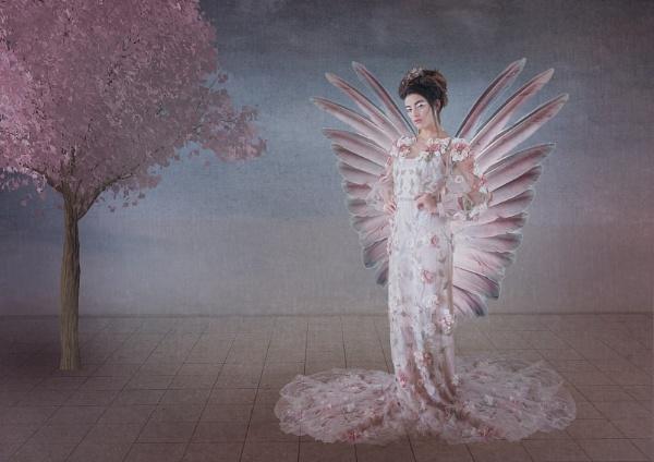 Flower Angel by JaneMIchelle