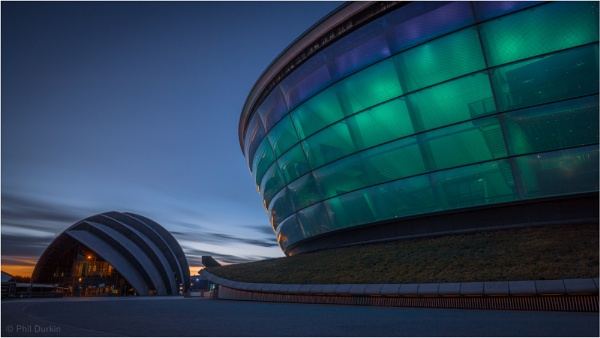 Sunset at The Hydro by Philpot