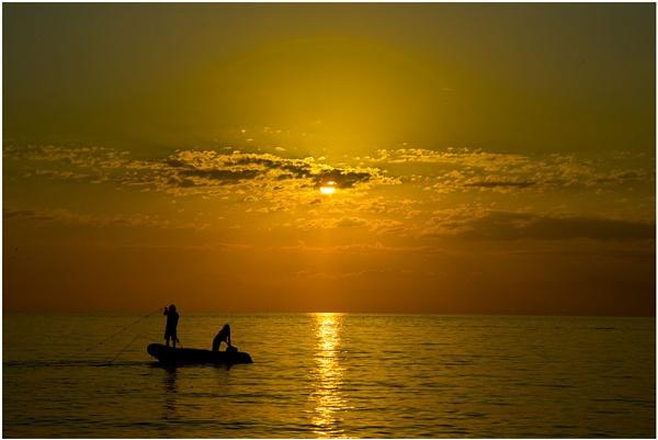 Evening fishing by danbrann