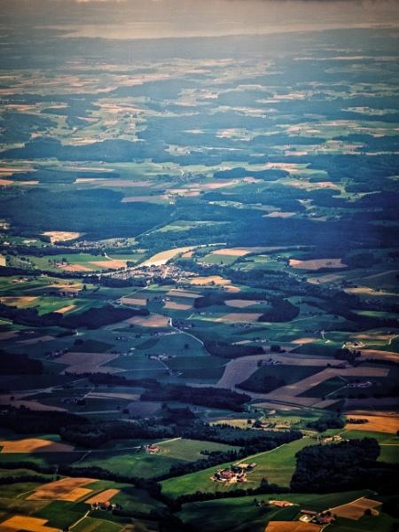 Landscape from above by rninov