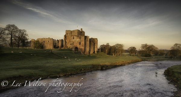 Brougham castle sunrise