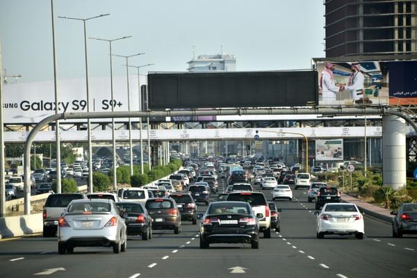 Peak Time Traffic @ Jeddah by aliathik