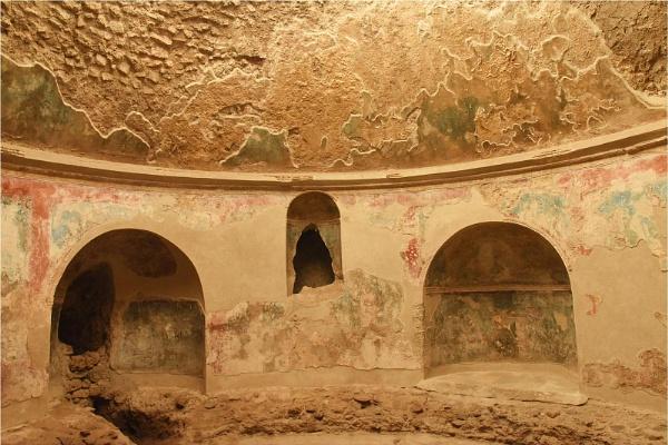 Pompeii Frescoes by MalcolmM