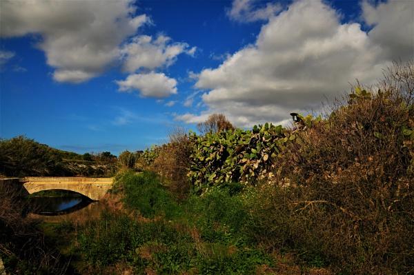 Bridge over the Stream by KingArthur