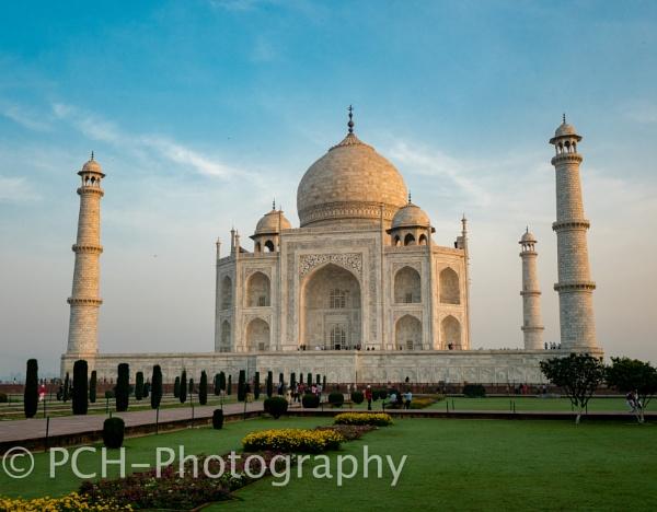 Sunrise at the Taj by P_Higham