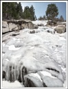 Frozen waterfall at Tahoe by tonyheps