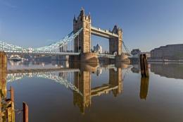 Tower bridge at sun up...