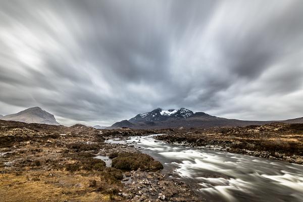 long exposure of Sligachan river by olafo