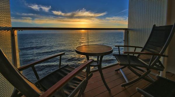 North Sea sunrise by esoxlucius