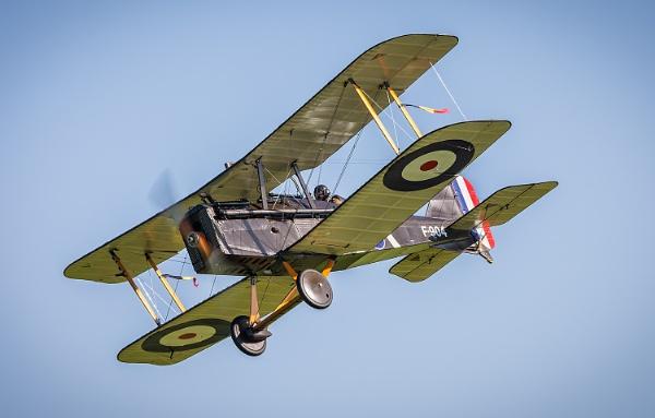 RAF SE5a Biplane by BydoR9