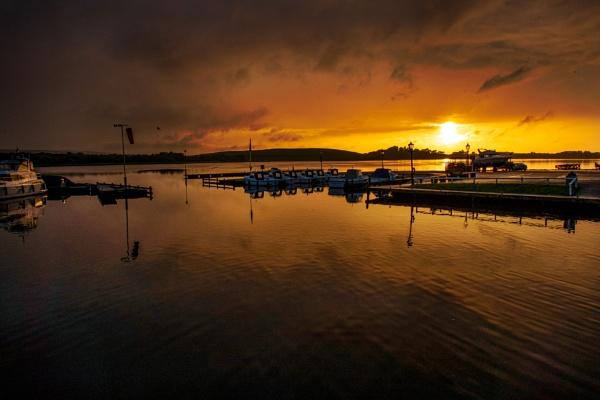 Sunset at Manor Marine Marina, Lough Erne by paul2000ni