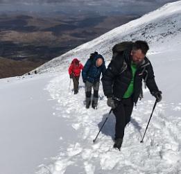 A trek up Ben Nevis.