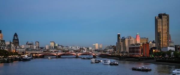 London Skyline at Dusk by Phil_Bird