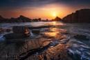 Hartland Quay Sunset by Tynnwrlluniau