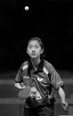 USA`s Amy Wang at the ITTF Team World Cup by rogerdoger