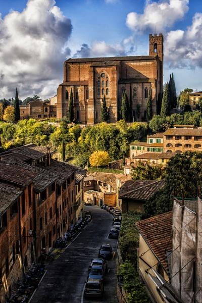 old street of Siena