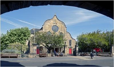 Canongate Kirk, Edinburgh.