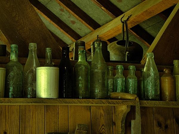 OLD BOTTLES. by kojack