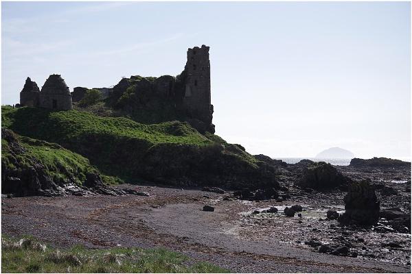Dunure Castle by johnriley1uk