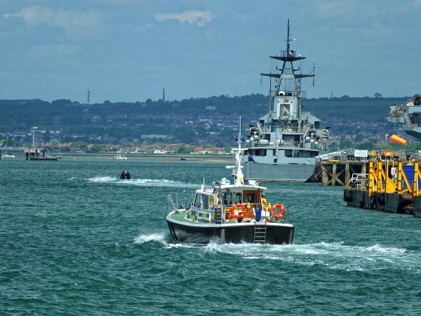 At sea......2