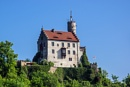 Gößweinstein castle - High-tech from the Middle Ages - look at the tower :) by aldasack1957