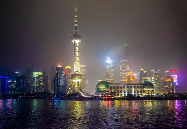 Shanghai de noche by Azteca