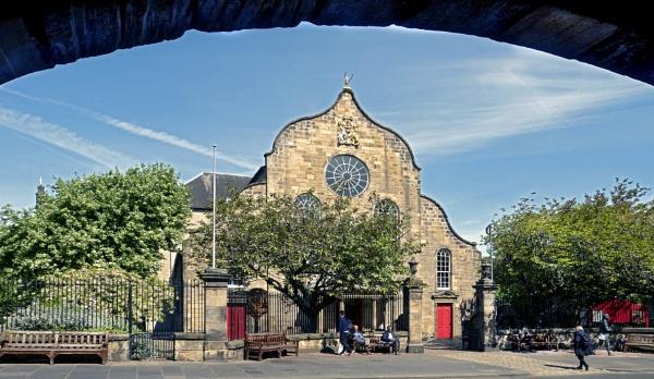 Canongate Kirk, Edinburgh. by mac