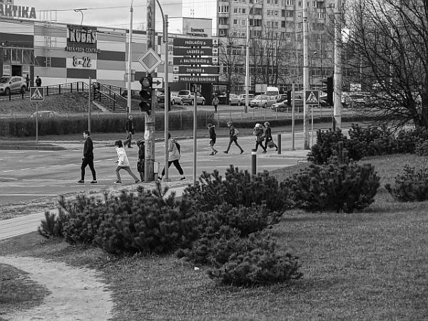 Abbey road x 2 by SauliusR