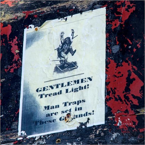 Gentlemen, tread light! by mrswoolybill