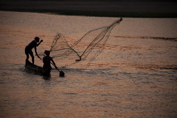 fishermen, at tel river by oneeyeshut